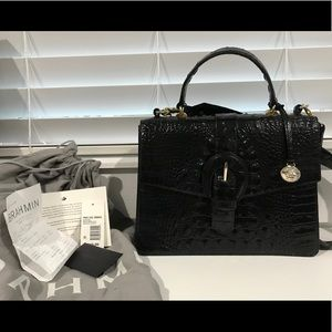 Brahmin Gabriella Satchel in Black